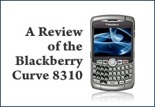 G-Squared catches the curve and reviews the Blackberry Curve 8310