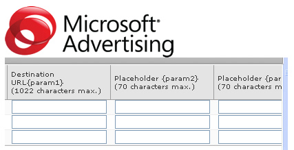 Using param1 and param2 in AdCenter.