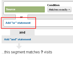 Using the add or statement to include more metrics or dimensions.