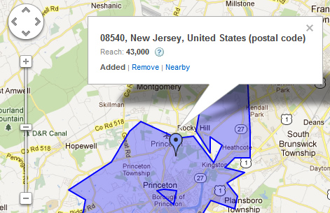 Location Targeting by Zip Code in Google AdWords