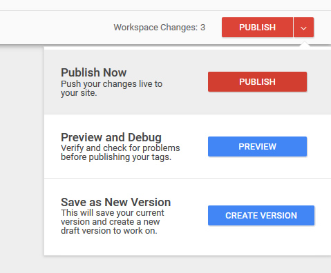 Publisher your changes.