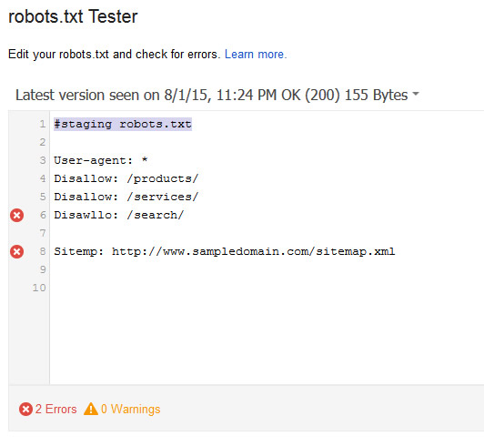 Checking Robots.txt After CMS Migration