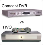 Comcast HD DVR vs TIVO