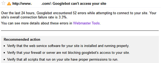 Googlebot Encountering Errors While Crawling a Website