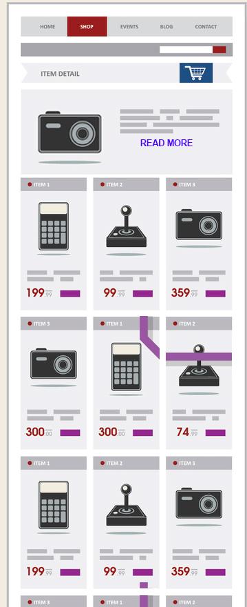 "Long e-commerce category descriptions hidden behind ""read more"" link."