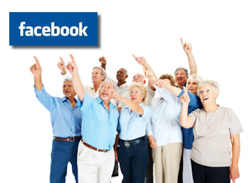Are people 55 and older on social networking sites like Facebook?