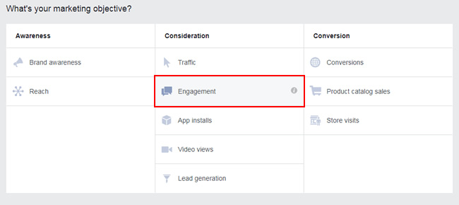 Boost a Facebook post via Ads Manager.