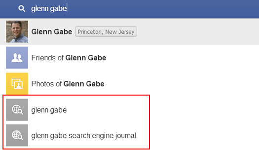 Facebook Graph Search Falls Back to Bing Results