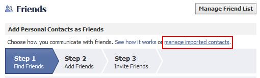 Access Facebook Contact Information