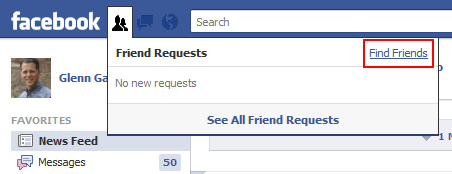 Access Mobile Contacts on Facebook