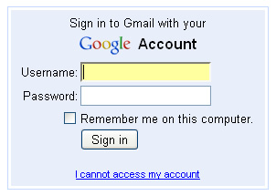 Gmail, I cannot access my account.