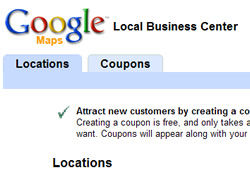 Google Local Business Center, Google Maps Listing