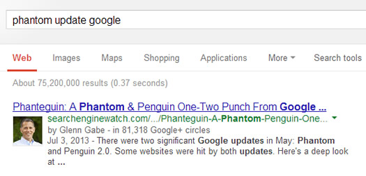 Author Details in Google SERPs