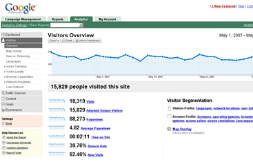 Google Analytics New Interface
