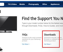 Upgrade Samsung HDTV Firmware