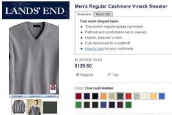 Lands End eCommerce Imaging Functionality