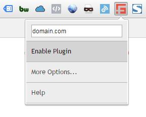 SpamFlag Chrome Settings