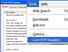 Using LiveHttpHeaders to Check Your HTTP Response Codes for SEO