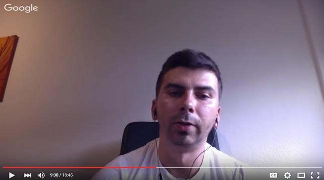 Gary Illyes Explaining Google Panda