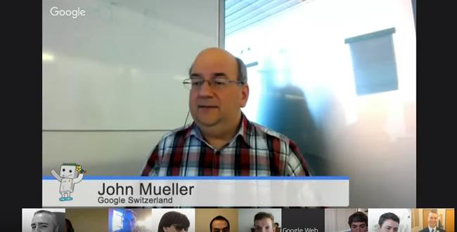 John Mueller Explaining Google Panda
