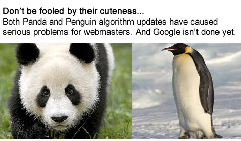 Panda and Penguin Algorithm Updates