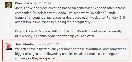 Panda Tremors John Mueller