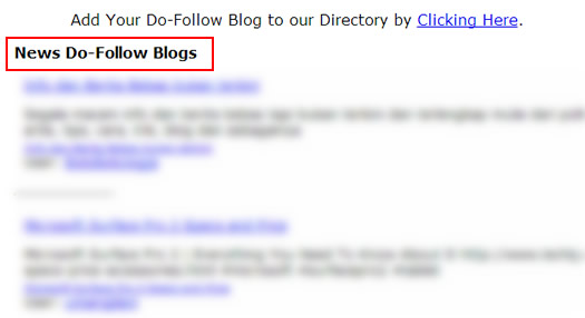 Do-Follow Directories Targeted by Penguin 2.1
