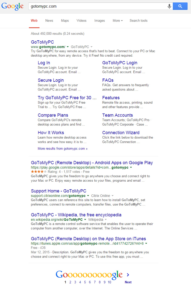 Phantom and Truncated SERPs