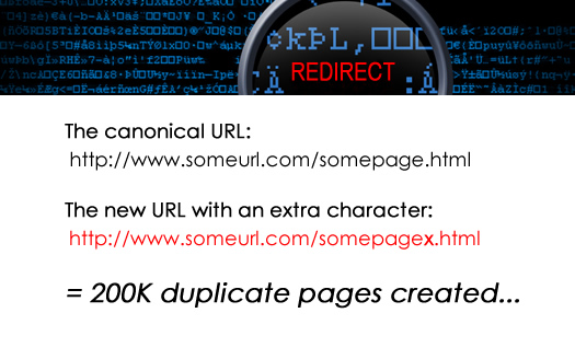 Faulty Redirects, Duplicate Content, and SEO - How a Redirect Glitch