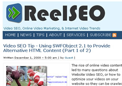 Glenn Gabe's Guest Post on ReelSEO
