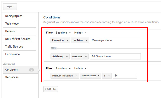 Creating Remarketing Lists Based on Revenue