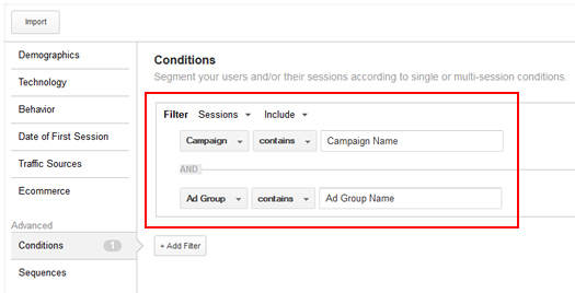 Creating Remarketing Lists Based on Previous Campaigns