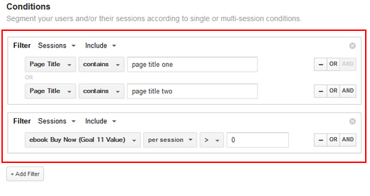 Creating Remarketing Lists Based on Page Titles and Conversion