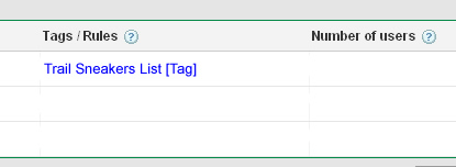 New remarketing snippet of code in AdWords