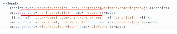 Meta Robots problem using no index vs. noindex