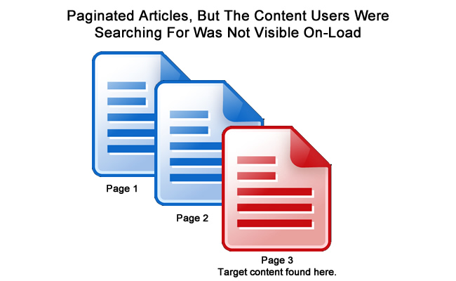 September 16 Update Pagination Issues