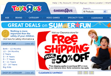 Tracking Offline Sales That Originate Online, Toys R Us Email Marketing