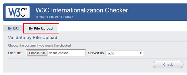 How to check robots.txt using W3C checker