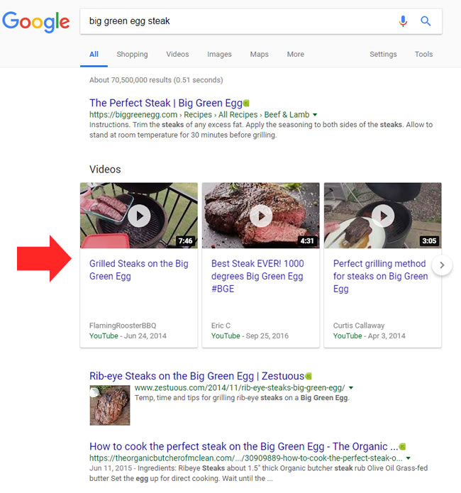 Google's New Video Carousels in the Desktop SERPs