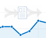 Tracking outbound clicks and content navigation in your web analytics package.