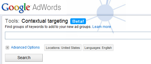 Contextual Targeting Tools in Google AdWords