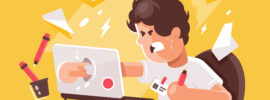 Frustrated User Behavior Flow